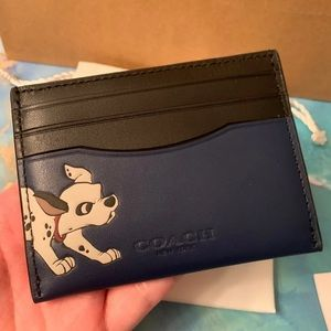 Coach x Disney Dalmatian Card Holder/Case